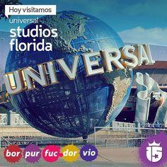 Universal Studios Florida nos espera hoy con los grupos #bordoF16 #purpuraF16 #fucsiaF16 #doradoF16 #violetaF16 con #enjoy15! #temporadaEnjoy15