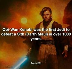 No wonder Maul was obsessed the way he was