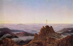 Caspar David Friedrich - Morning in Riesengebirge