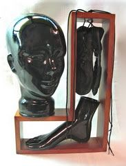 Dance Then Wherever You May Be - found object art - Assemblages by Roberta Karstetter