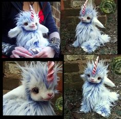SOLD Handmade Poseable Baby Unicorn! by Wood-Splitter-Lee on DeviantArt