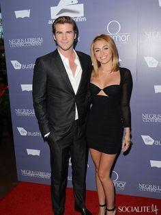 Actors Liam Hemsworth and Miley Cyrus arrive at Australians In Film Awards & Benefit Dinner at #InterContinental Hotel on June 27, 2012 in Century City, California.  http://celebhotspots.com/hotspot/?hotspotid=5347&next=1