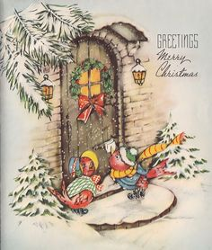 Birds come calling at Christmas.