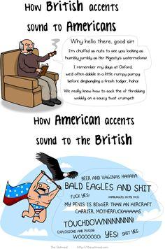 British vs. Americans