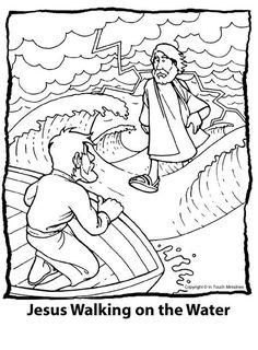 Matteus 14: Jezus loopt op het water