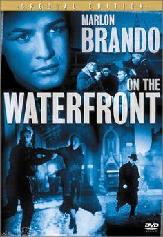 On the Waterfront won 8 Oscars including Best Picture Best Director- Elia Kazan Best Actor -Marlon Brando Best Supporting Actress - Eva Marie Saint Marlon Brando, Old Movies, Great Movies, Popular Movies, Vintage Movies, Drama, Love Movie, Movie Tv, Eva Marie Saint