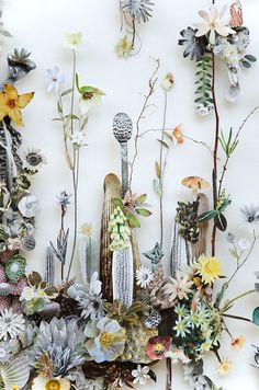 Anne Ten Donkelaar, flower constructions