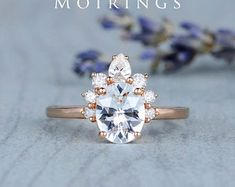 HANDMADE RINGS & BRIDAL SETS by MoissaniteRings on Etsy Bridal Ring Sets, Handmade Rings, Topaz, Trending Outfits, Etsy Seller, Unique Jewelry, Engagement Rings, Crystals, Diamond