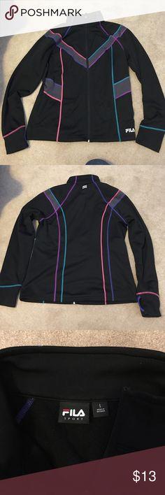 Women's Fila Sport Jacket Size Large Great Condition. Fila Women's Sport Jacket. Worn maybe twice. Open to offers using the offer button. Fila Jackets & Coats