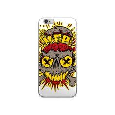 "Mind Flip Productions ""MFP Skull"" iPhone 5/5s/Se, 6/6s, 6/6s Plus Case"