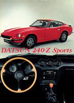 Historie Datsun Nissan Fairlady (Sports) Z ZX