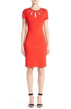 St. John Collection Milano Sheath Dress available at #Nordstrom