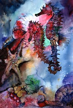 Seahorses by Peter Williams