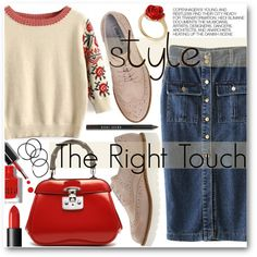 How To Wear The Right Touch Outfit Idea 2017 - Fashion Trends Ready To Wear For Plus Size, Curvy Women Over 20, 30, 40, 50