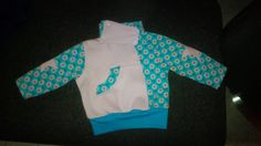 Ulrike hat nach einem Lebenslustig-Schnitt diese super süße Jacke genäht ... super gemacht!!!