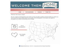 WELCOME THEM HOME is a network of photographers who donate their time and skills to photograph Soldier homecomings, FREE of charge. Visit their website to find a photographer in your area. www.operationwearehere.com/deploymentphotographysessions.html