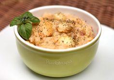 Arroz Cremoso com Frango e Champignon ~ PANELATERAPIA - Blog de Culinária, Gastronomia e Receitas