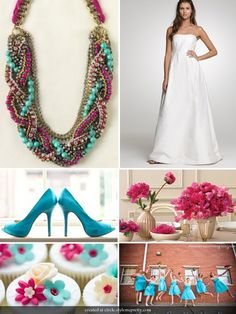 $228 ~ The Bamboleo necklace is perfect to jazz up this classic but simple wedding dress. www.stelladot.com/jeanique