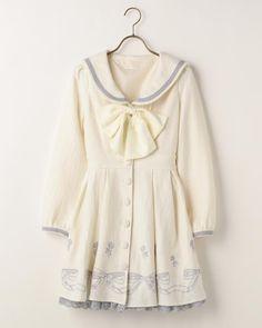 セーラーリボン刺繍ワンピース|渋谷109で人気のガーリーファッション リズリサ公式通販
