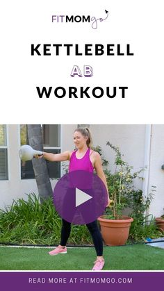 10 Minute Kettle Bell Ab Workout #abworkout #coreworkout #kettlebellworkout #kettlebellcoreworkout #kettlebellcore #quickworkout #shortworkout #workoutvideos Kettlebell Core Workout, Cardio Workouts, Workout Tips, Workout Videos, At Home Workouts, Strength Workout, Strength Training, Circuit Training, Pregnancy Workout