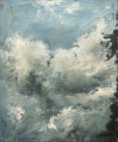 John Constable. Cloud Study. Aug. 12, 1822