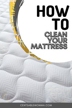 You sleep on your mattress every night, but have you thought about what lurks beneath? Check out these tips for how to deep clean your mattress, including stains and smells with everyday products like baking soda and more. #cleaninghacks #bakingsoda #cleanyourmattress Deep Cleaning, Spring Cleaning, Cleaning Hacks, Mattress Cleaning, Cozy Bed, Baking Soda, Thinking Of You, Stains, Sleep