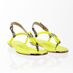 Ayden Acid Yellow, women's shoes, dv by dolce vita