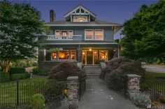 For Sale: $1,225,000. 25 Photos. 5 bed, 2.5 bath, 6,500 sqft house at 312 Avenue D. Built in 1906 by master builder N. P. Hansen & lovingly maintained the landmark Iverson House embodies historic Snohomish living at its best. Timeless original details abound from the restored hardwoods to the leaded glass windows & brick chimneys. Glimpse a hot air balloon from light-loving windows & balconies. Equipped to entertain in grand scale w/ expansive dining room, ballroom & wine...