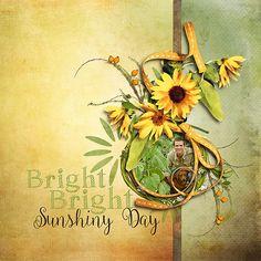 Kit: Armful of Sunflowers Designer: ET Designs Font: Ballerina Script RegularFont: Sketch Fine Serif Regular