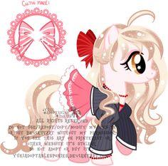 OC Lacey Custom Pony by KingPhantasya
