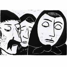 Werner Berg, Die Leidtragenden, 1937 Austria, Berlin, Disney Characters, Fictional Characters, Printing, Comics, Disney Princess, Shirt, Art