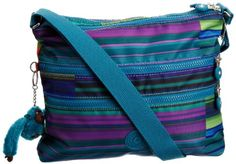 Kipling Women'S Alvar Shoulder Bag Summer Stripe 95