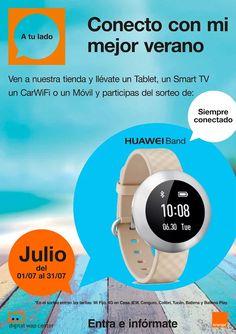 Acércate a nuestra Tienda Orange Carrefour Vila-real y participa del sorteo de un reloj +Huawei Mobile España