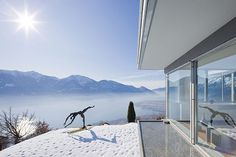 Bucerius House, Brione - Switzerland, 1966 by Richard Neutra