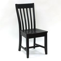 Carolina Cottage Prairie Schoolhouse Chair Antique Black ** Click image for more details. (This is an affiliate link) #KitchenandDiningRoomFurniture
