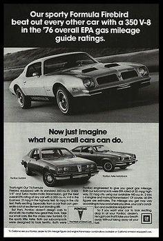 Pontiac Firebird 1979 Automobile Ad 350 V-8 Sport Car Sporty Formula Print Ad
