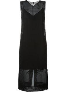 MAISON MARGIELA Sleeveless Transparent Dress. #maisonmargiela #cloth #dress