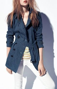 #Burberry Brit trench coat http://rstyle.me/n/gvvkrr9te