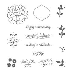 So in Love Clear-Mount Stamp Set by Stampin' Up!