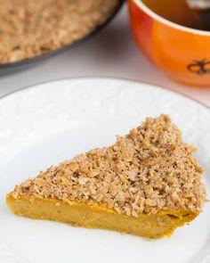 Suesskartoffel Streusel Kuchen