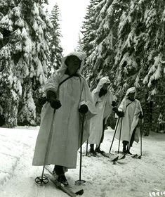Hurtgen gallery 10 In January 1945, at the end of the Battle of the Bulge, three men of an intelligence and reconnaissance platoon use skis on patrol in the snow-covered Hürtgen Forest. Their mission is to explore an underground tunnel that the Germans used, it seemed, to get behind the American lines.