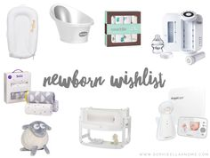 Newborn Wishlist - Baby Number Two | Sophie Ella and Me