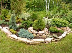 Клумбы из камней своими руками | Дачный сад и огород