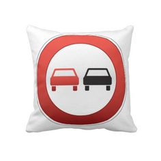 Cool design representing a NO PASSING road sign. This is a customizable gift and belongs to a collection of road signs designs available on other products in roadsigns.peculiardesign.net . See the whole store in peculiardesign.net