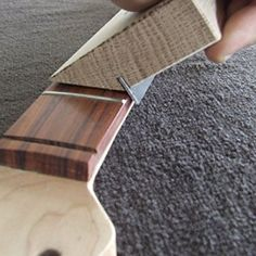 35/90 Degree Fret Bevel Tool Guitar - Luthier: Amazon.co.uk: Musical Instruments