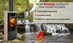 Romotop stoves and firplaces - UK stockist