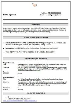 Pin By Diana Doub On Cover Letter Amp Resume Examples
