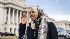 Ilhan Omar's opponents have looked for every opportunity to portray the Somali-born Muslim lawmaker as a threat to Jewish Americans. Lee Zeldin (R-N.) spent his first … Dog Whistle, Racial Equality, Wearing A Hat, Somali, Muslim Women, Headgear, Hair Styles, People, Home