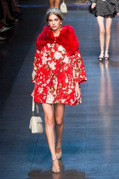 7 Spring 2014 Takeaways From Milan Fashion Week,Dolce & Gabbana Spring 2014
