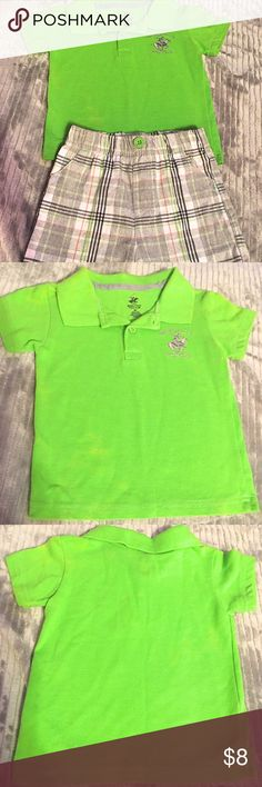 U.S. Polo Association Polo Short Set Gently used Polo short set. In perfect condition with no stains, holes, or other defects. US Polo Association Matching Sets
